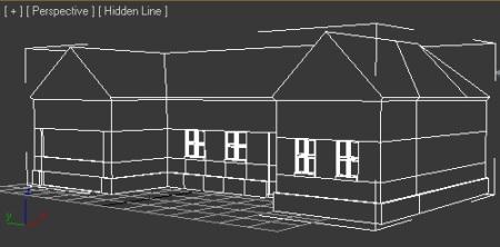 Hus i 3D