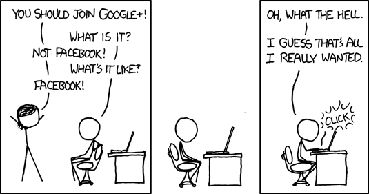 XKCD Google Plus